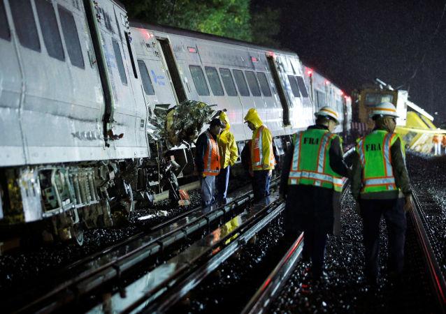 Katastrofa kolejowa w USA. Wielu rannych