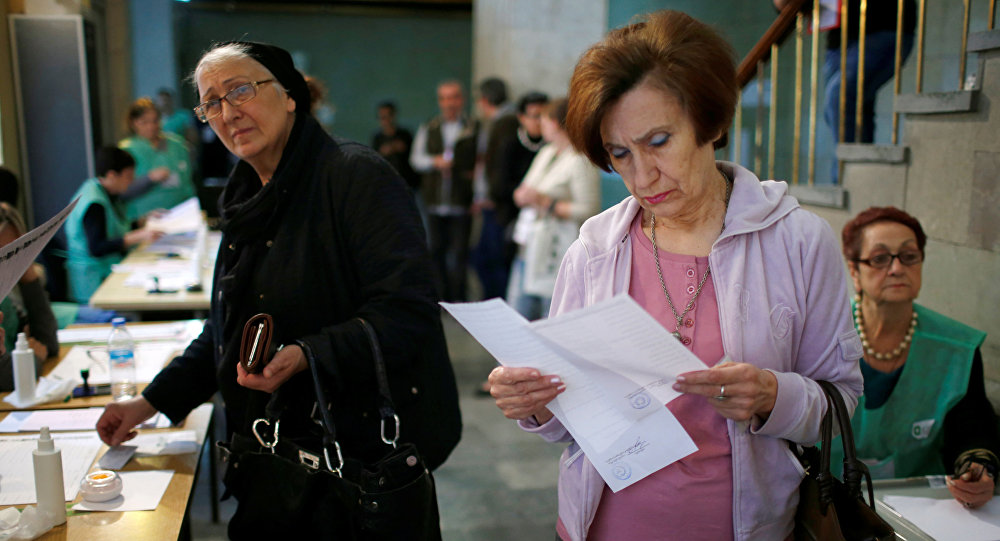 Wybory parlamentarne w Gruzji