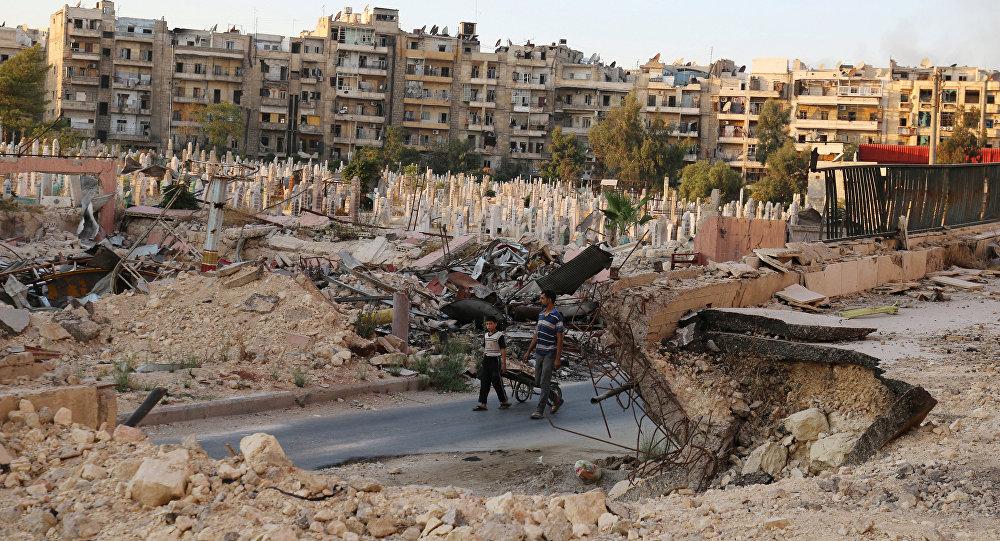 Syria, okolice Aleppo, 6 października 2016