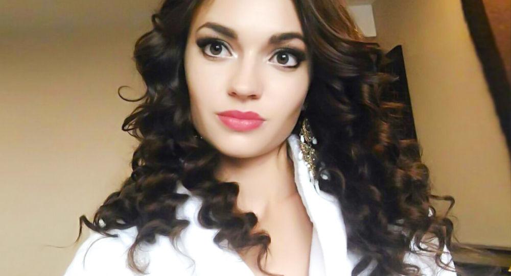 """Zwyciężczyni międzynarodowego konkursu piękności """"Face of Beauty International - 2016"""" Alona Rajewa"""