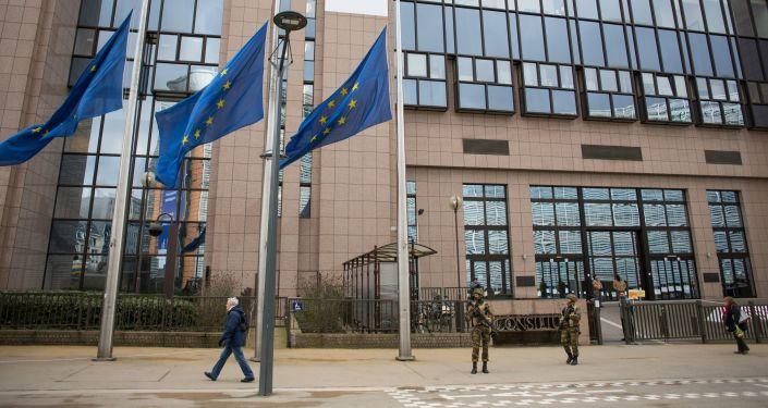 Siedziba Parlamentu Europejskiego w Brukseli