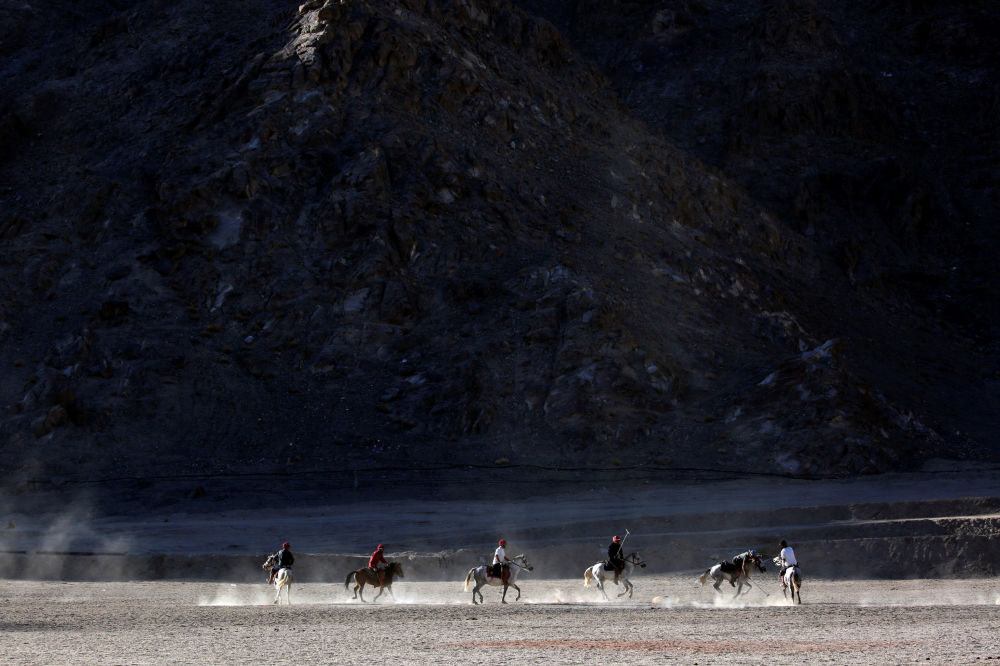 Gra w polo, Ladakh, Himalaje