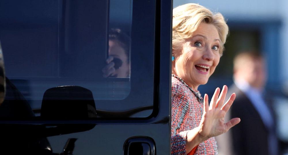 Kandydat na prezydenta USA z Partii Demokratycznej Hillary Clinton
