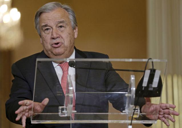 Nowy sekretarz generalny ONZ Antonio Guterres