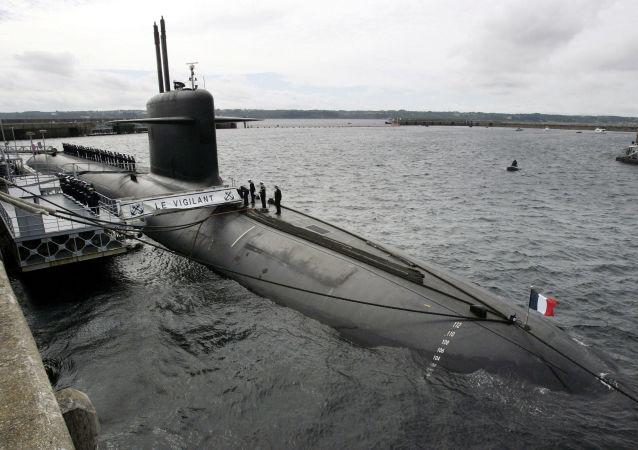 Francuski okręt podwodny Le Vigilant