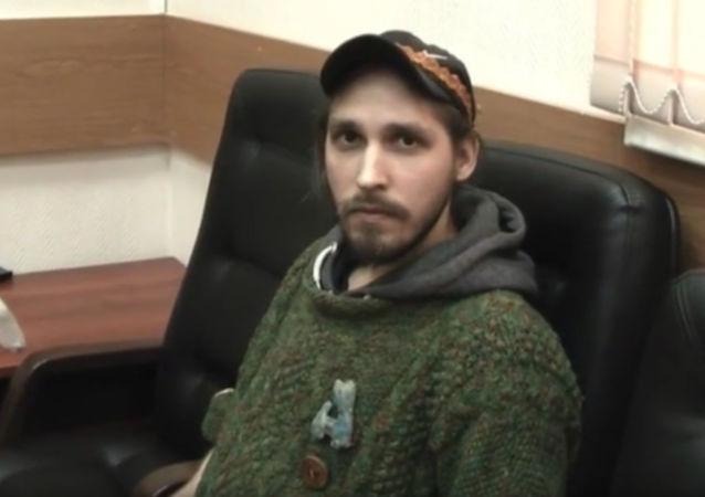 Konstantin Żurawliow po powrocie z niewoli w Syrii