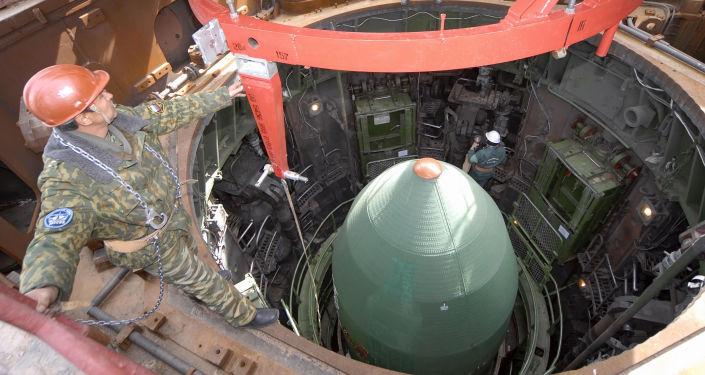Przygotowania do startu RS-20