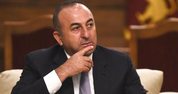 Szef tureckiego MSZ Mevlut Cavusoglu