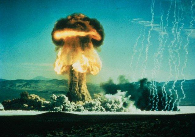 Wybuch amerykańskiej bomby atomowej, 17 styczenia 1962