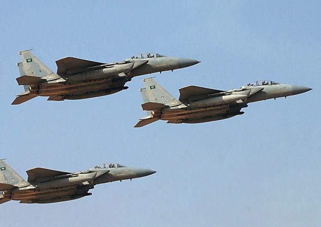 Arabia Saudyjska zrzuca bomby na cywilów, a Brytyjczycy szkolą jej pilotów