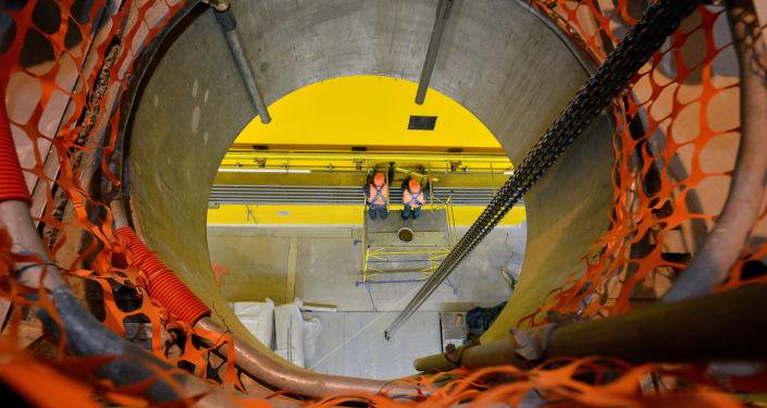 Przechowalnik zużytego mokrego paliwa jądrowego w strefie wykluczenia wokół Czarnobylskiej Elektrowni Jądrowej