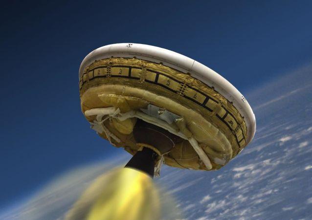 Naddźwiękowy moderator do lądowania na Marsie