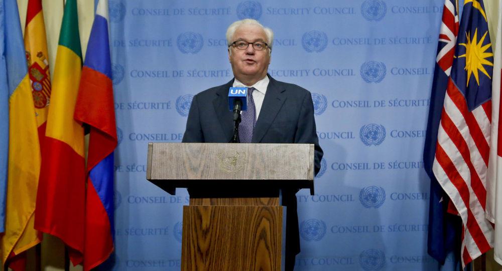 Stały przedstawiciel Rosji w ONZ Witalij Czurkin