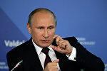 Władimir Putin na spotkaniu Klubu Wałdajskiego