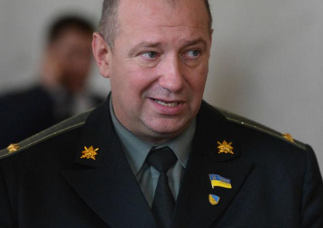Były dowódca batalionu nacjonalistycznego Ajdar, deputowany ludowy Rady Najwyższej Ukrainy Siergiej Melniczuk