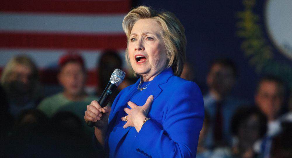 Kandydatka na prezydenta USA Partii Demokratycznej Hillary Clinton