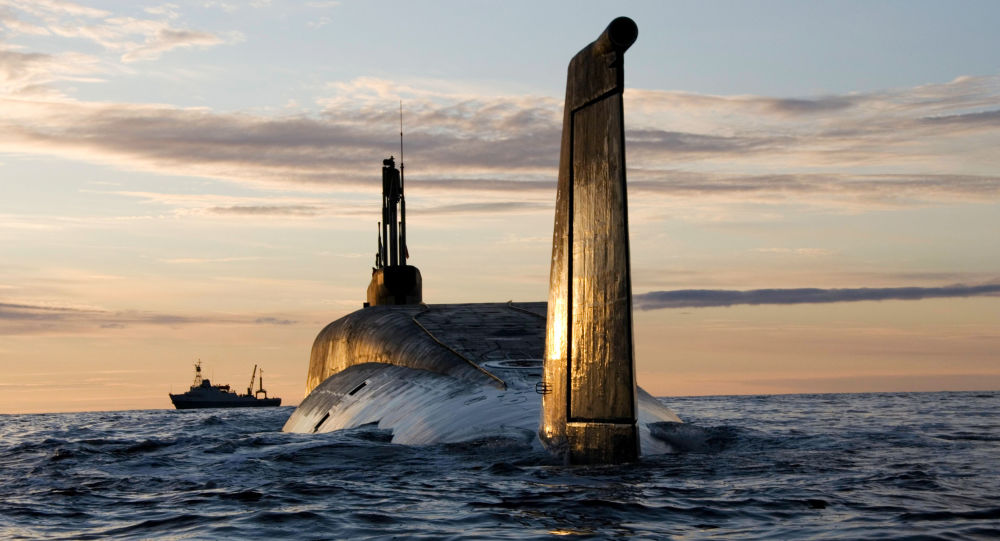 Atomowa łodź podwodna Jurij Dołgorukij