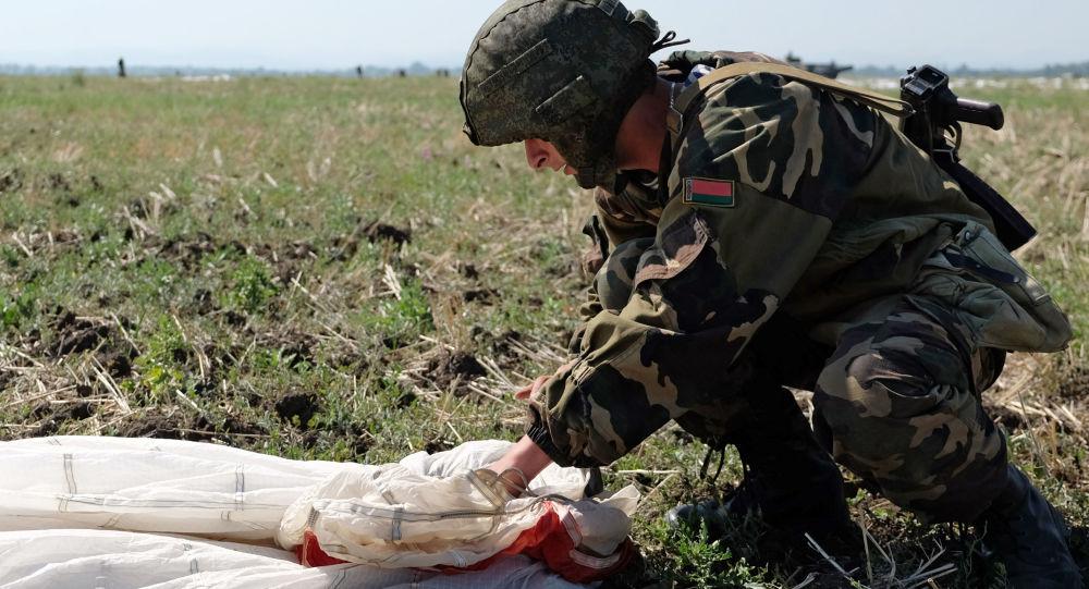 Wspólne szkolenie desantowców Rosji, Białorusi i Serbii