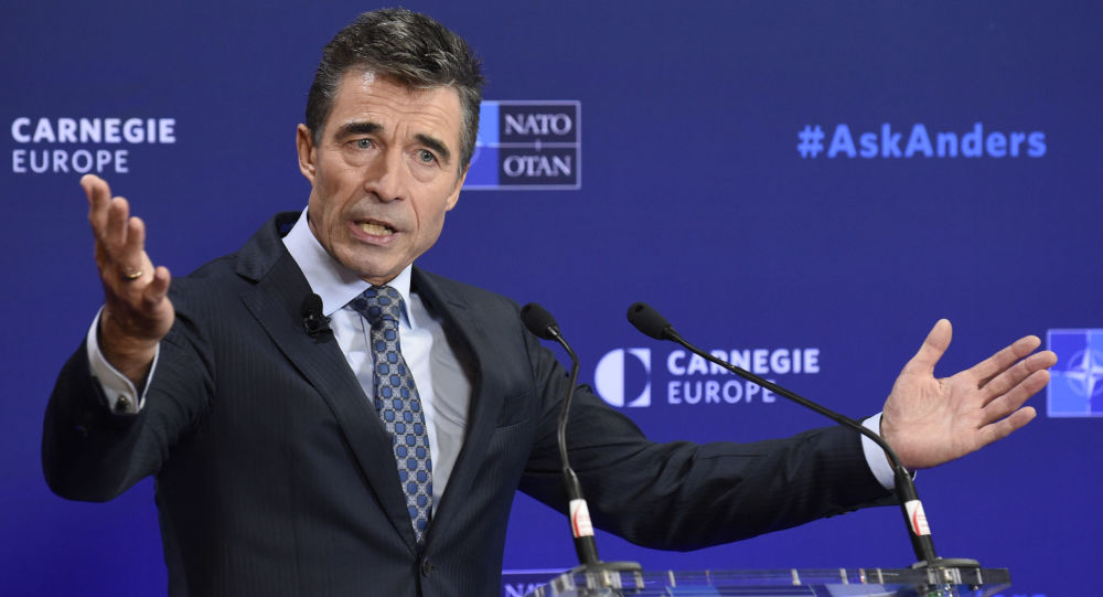 Anders Fogh Rasmussen. Były sekretarz NATO