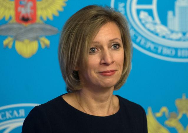 Rzeczniczka rosyjskiego MSZ Maria Zacharowa