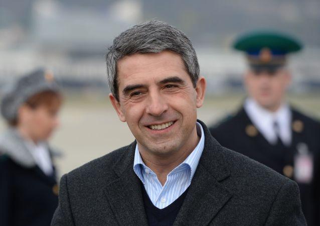 Prezydent Bułgarii Rosen Plewneliew