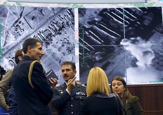 Briefeng w Ministerstwie Obrony Rosji