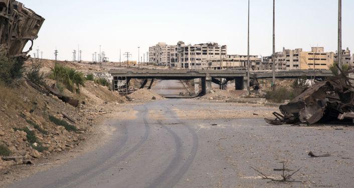 Korytarz humanitarny w syryjskim Aleppo