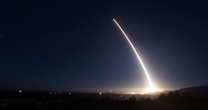 Próba międzykontynentalnej rakiety balistycznej Minuteman III w USA