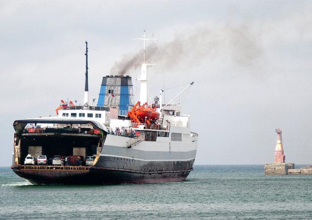 Ministerstwo Transportu Rosji zamierza znacznie zwiększyć wielkości przewozów ładunkowych do Europy za pośrednictwem promów