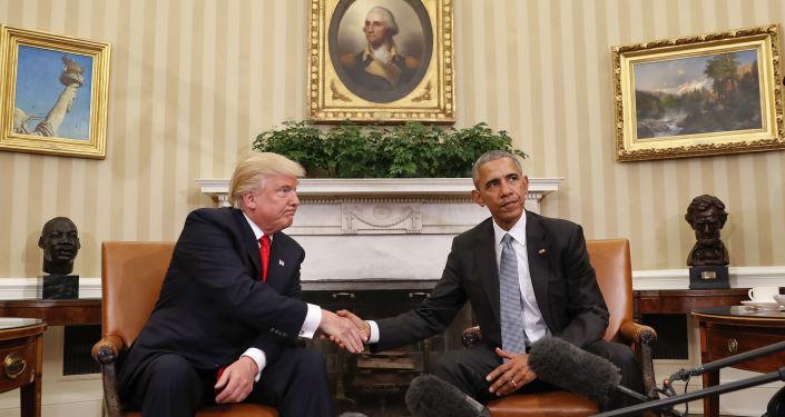 Uchodzącemu prezydentowi USA Barackowi Obamie i prezydentowi elektowi Donaldowi Trumpowi nie udało się znaleźć wspólnego języka podczas pierwszego spotkania