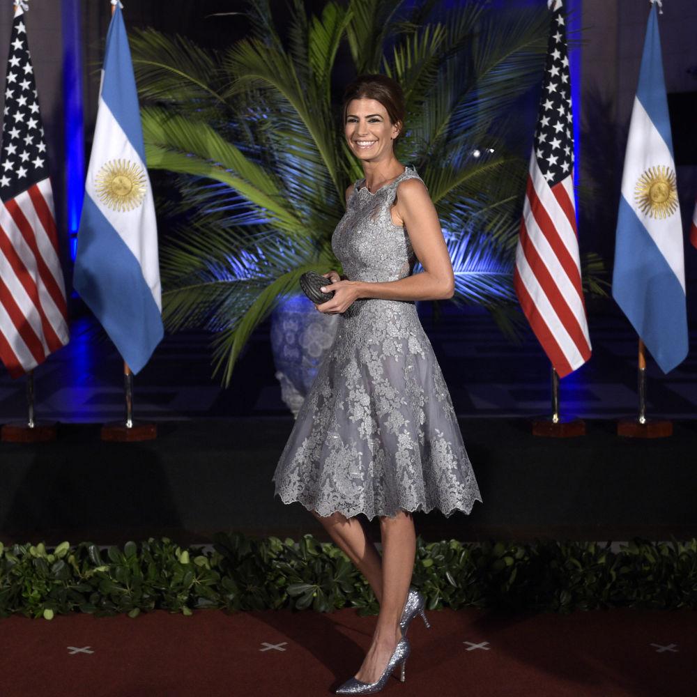 Żona prezydenta Argentyny Juliana Awada