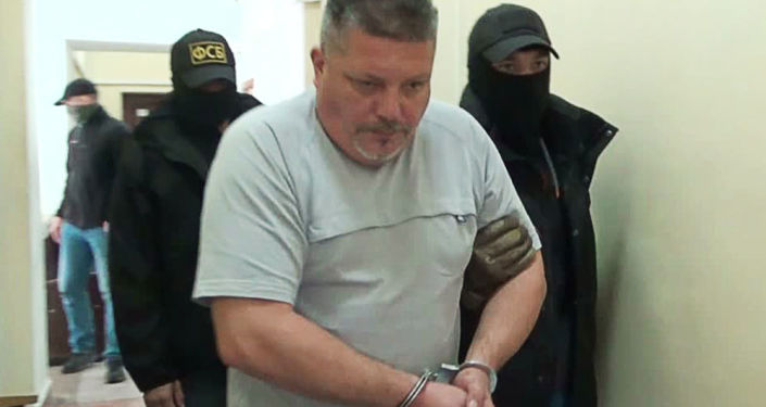 Zatrzymany ukraiński sabotażysta w Leninskim Sądzię Rejonowym Sewastopola