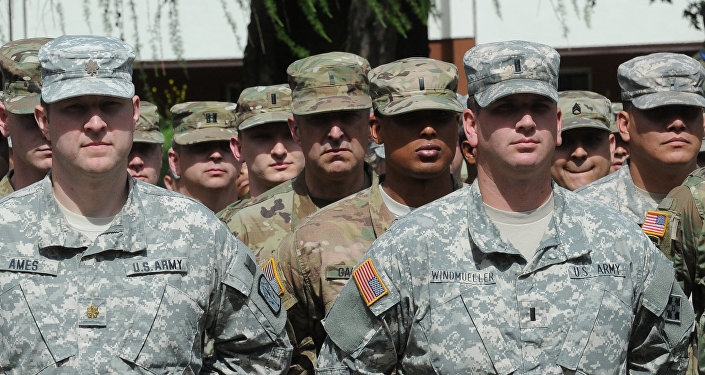 Amerykańscy żołnierze podczas ćwiczeń Anakonda 2016 w Polsce