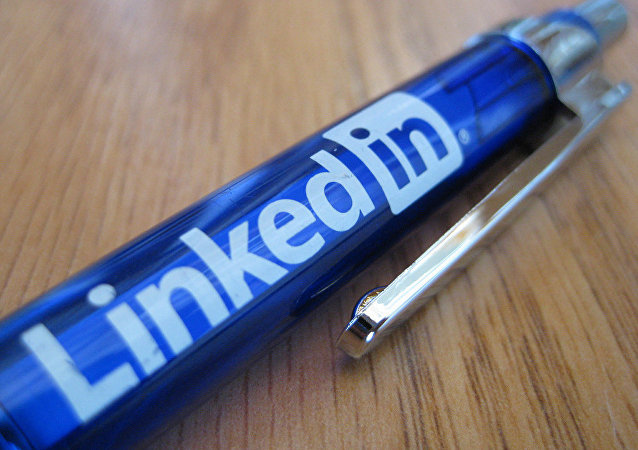 Długopis z logiem LinkedIn