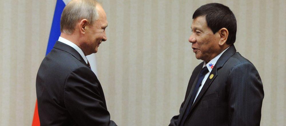 Prezydent Rosji Władimir Putin na marginesie szczytu APEC w stolicy Peru spotkał się z filipińskim liderem Rodrigo Duterte