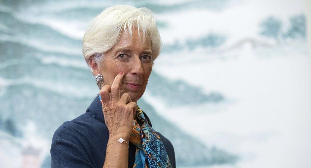 Szefowa MFW Christine Lagarde