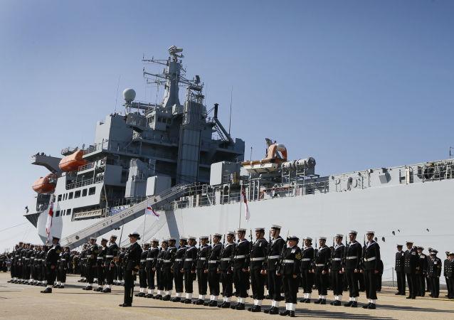 Skład osobisty okrętu RFA Argus brytyjskiej marynarki wojennej
