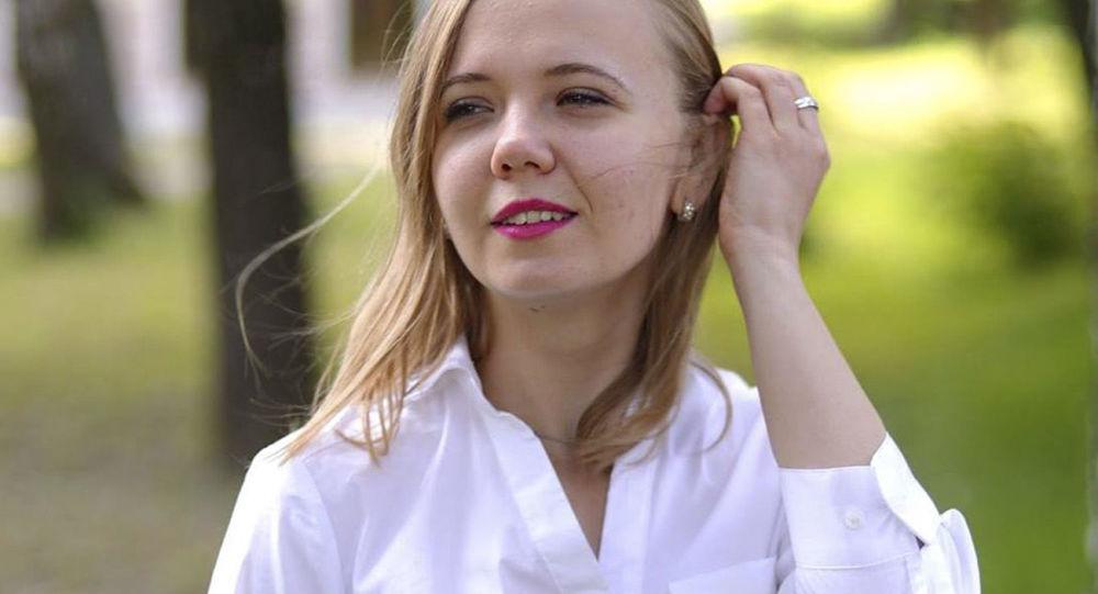 Pracownica Ministerstwa Sprawiedliwości Ukrainy Anna Kalinczuk
