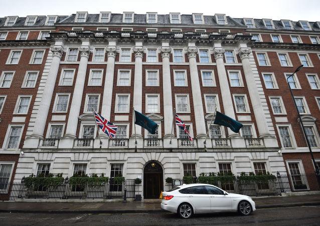 Hotel Millenium w Londynie, w którym najprawdopodobniej doszło do otrucia Aleksandra Litwinienki