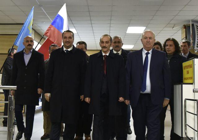 Wizyta tureckiej delegacji na Krymie
