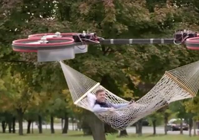 Latający dywan XXI wieku