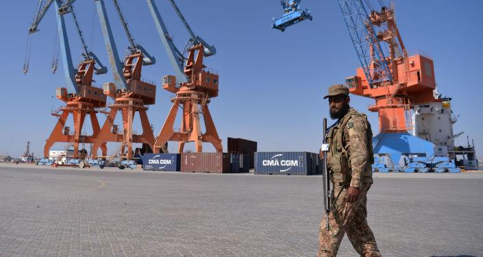 Pakistański port Gwadar