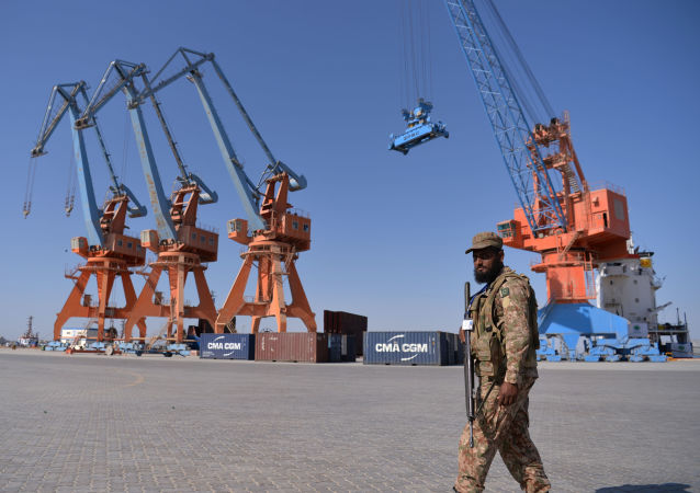 Pakistański port Gwadar