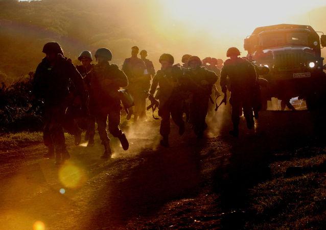 Kontrola gotowości bojowej wojsk Wschodniego Okręgu Wojskowego