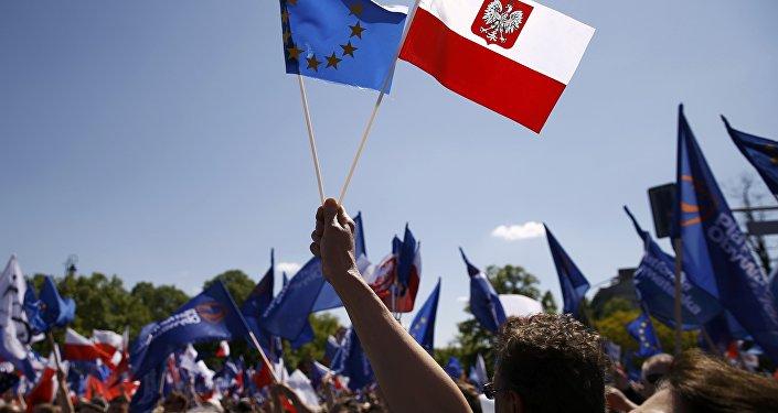 Demonstracja w Warszawie, maj 2016