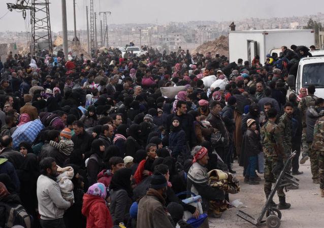 Ewakuacja Syryjczyków ze wschodnich dzielnic Aleppo