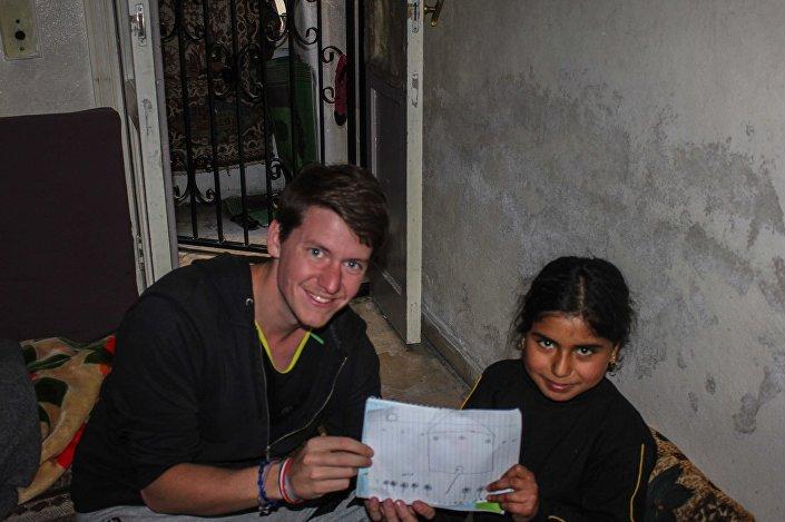 Założyciel NGO We are spuerheroes Pierre Le Corf
