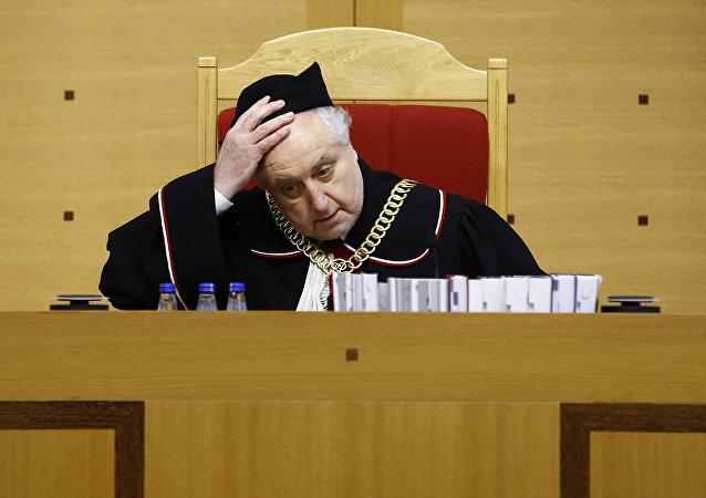 Prezes Trybunału Konstytucyjnego Andrzej Rzepliński