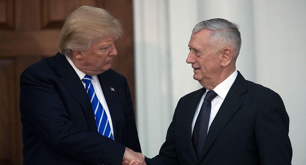 Trump potwierdził wybór byłego dowódcy Korpusu Piechoty Morskiej gen. Jamesa Mattisa na szefa Pentagonu