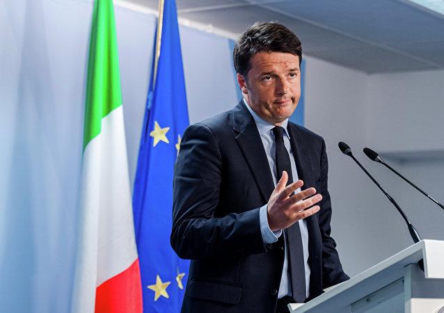 Premier Włoch Matteo Renzi